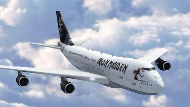 Iron Maiden estrenarán nuevo avión para su próxima gira