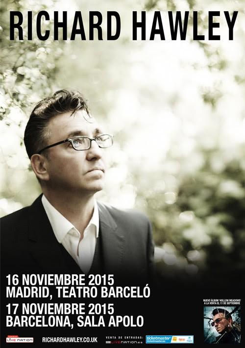 Richard Hawley, gira por España en noviembre