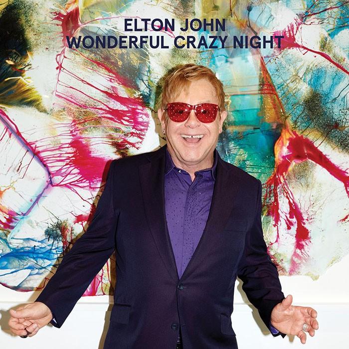 Elton John Wonderful Crazy Night portada