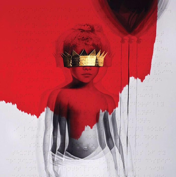 Rihanna Anti portada