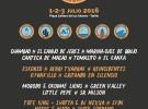 Cabo de Plata 2016, festival en Zahara de los Atunes en julio de 2016