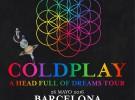Coldplay, el 26 de mayo concierto en el Estadio Olímpico de Barcelona