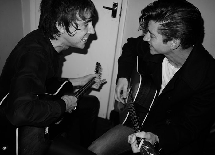 The Last Shadow Puppets Alex Turner Miles Kane