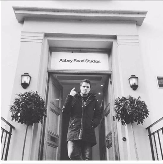 Dani Martín Abbey Road Studios