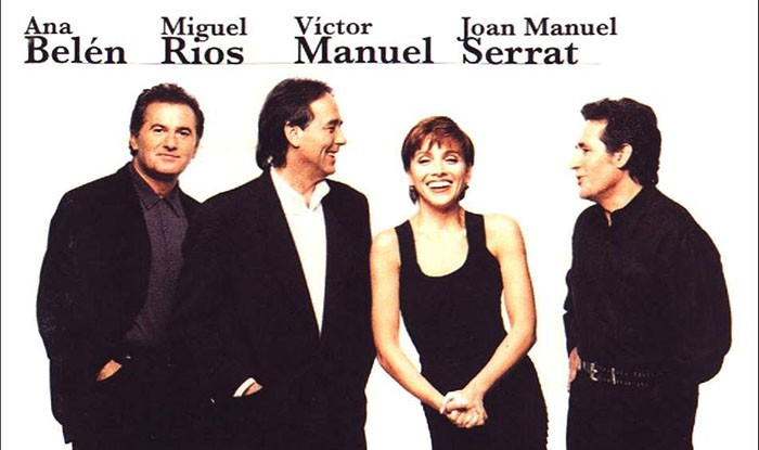 Nuevas fechas de Joan Manuel Serrat, Ana Belén, Miguel Ríos y Víctor Manuel en Madrid y Barcelona
