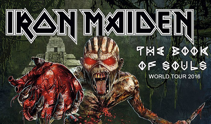 Iron Maiden The book of souls world tour