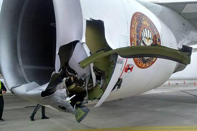 Iron Maiden, un leve accidente con su avión deja dos heridos