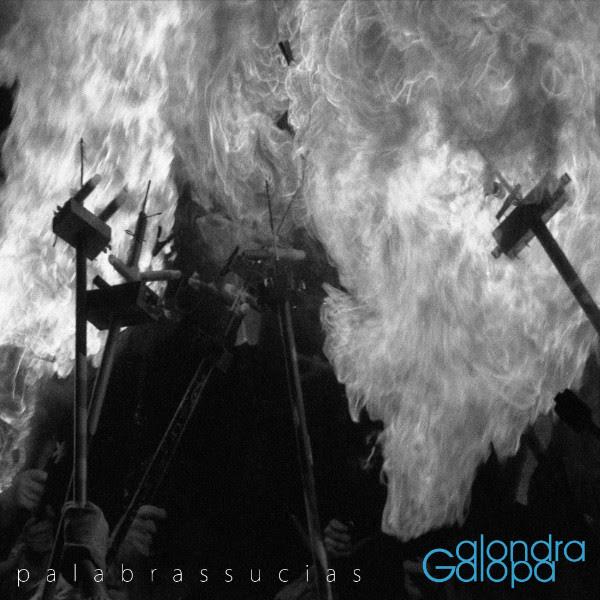 Alondra Galopa Palabras sucias portada single