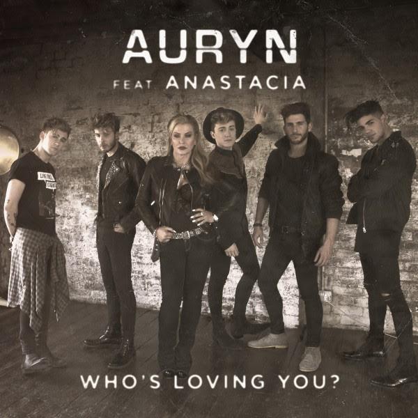 Auryn Anastacia Who's loving you? portada