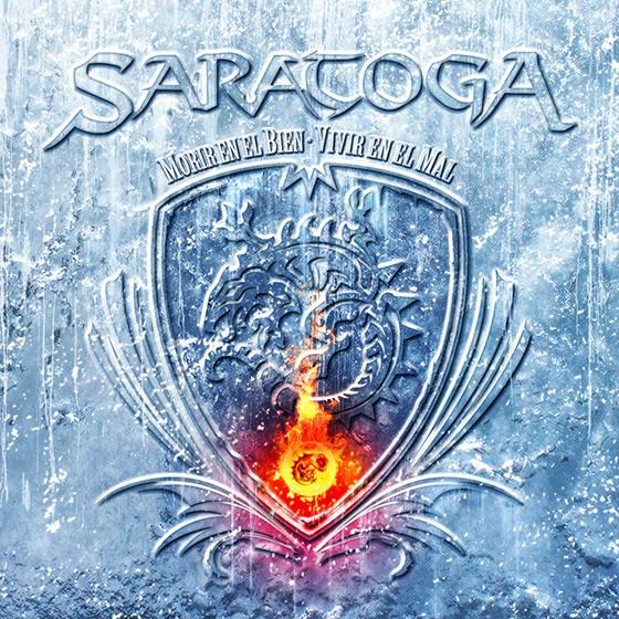 Saratoga Morir en el bien, vivir en el mal portada
