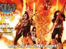 Kiss rocks Vegas, el 25 de mayo en los cines de varias ciudades españolas