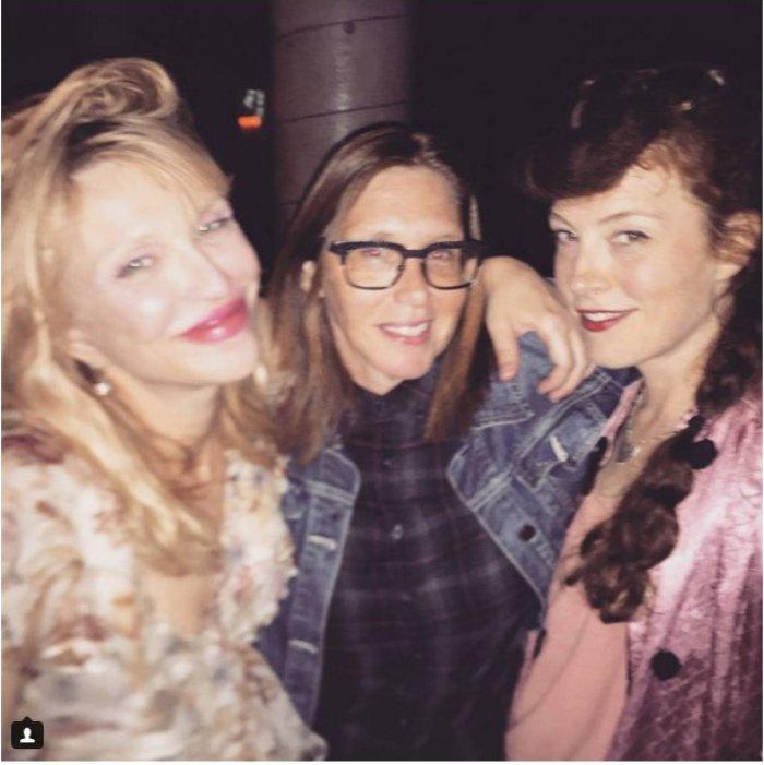 Courtney Love y la posible reunión de Hole