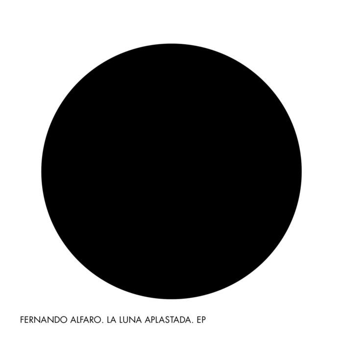 La Luna aplastada Fernando Alfaro portada EP