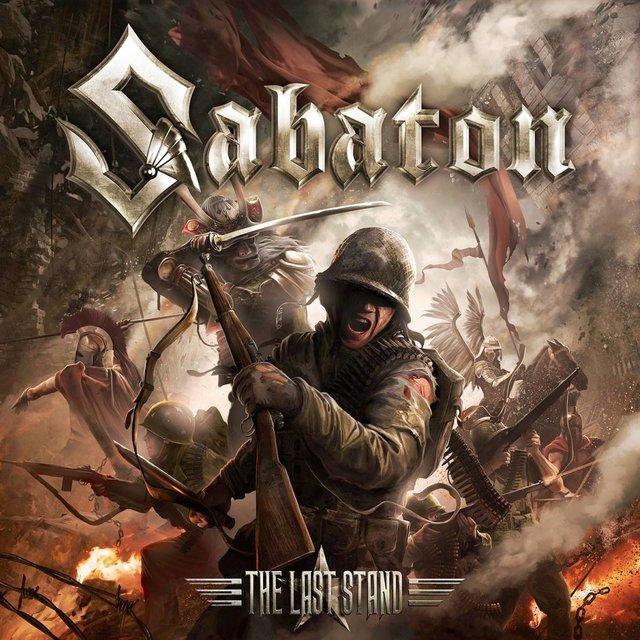Sabaton The last stand portada cover