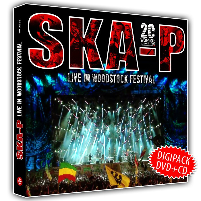 Live in Woodstock Festival Ska-P portada