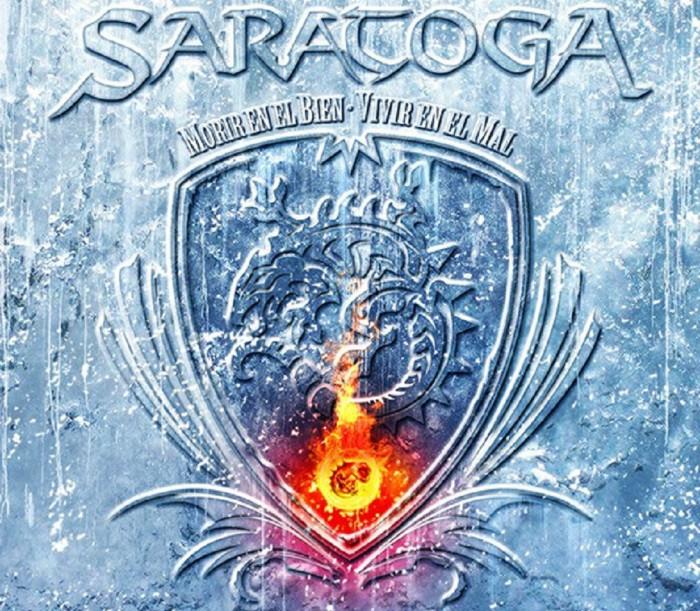 Saratoga Morir en el bien vivir en el mal portada