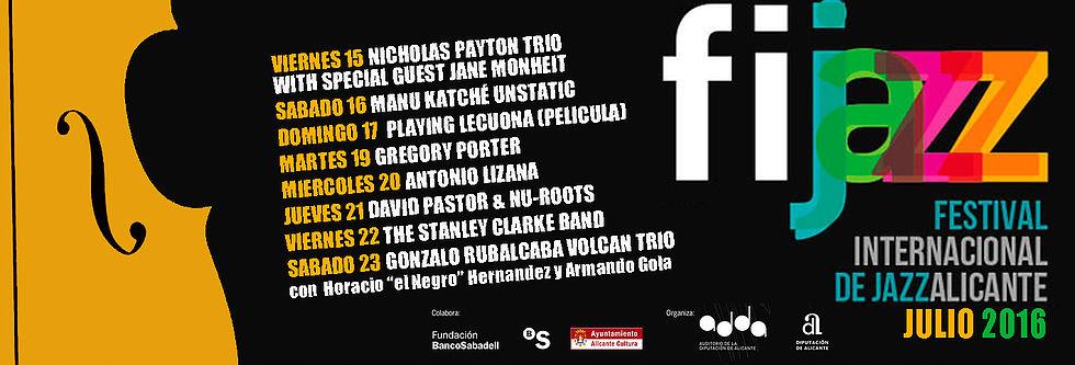 Fijazz Alicante, cita con el mejor jazz en julio