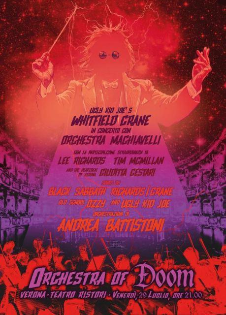 Whitfield Crane, de Ugly Kid Joe, y su concierto con clásicos de Black Sabbath y Ozzy Osbourne