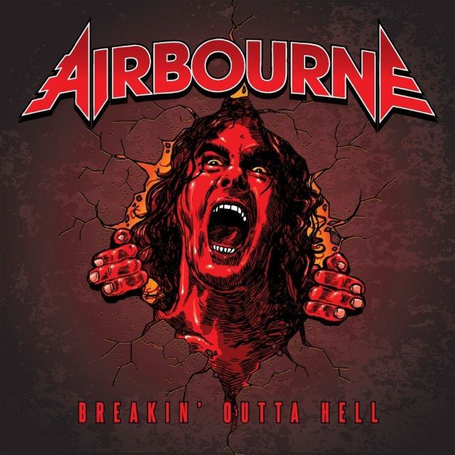 "Airbourne, lyric video de su single ""Breaking outta hell"""