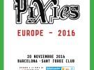 Pixies, concierto en Barcelona el próximo 20 de noviembre