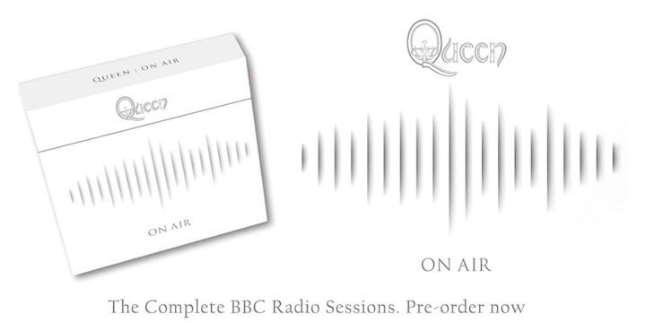 Queen editarán On Air el próximo cuatro de noviembre