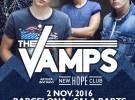 The Vamps, gira por España en noviembre