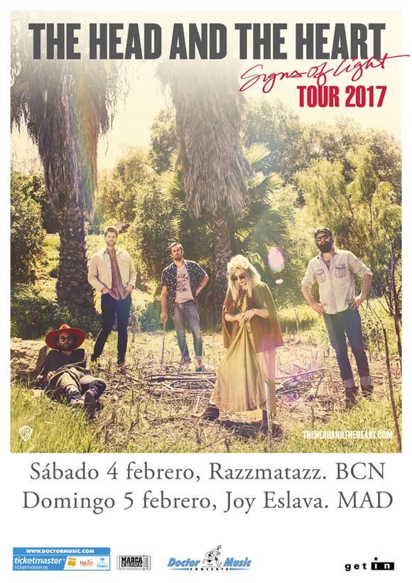 The Head & The Heart, nueva gira por España en 2017