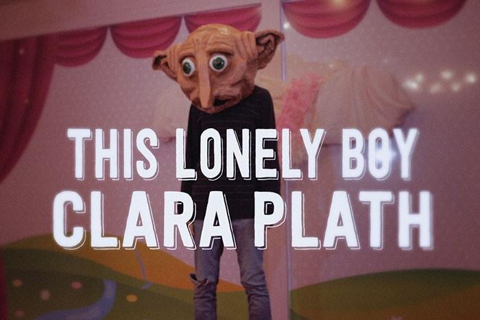 This lonely boy Clara Plath