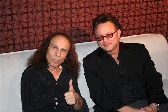 """Geoff Tate: """"Ronnie James Dio era una persona única"""""""