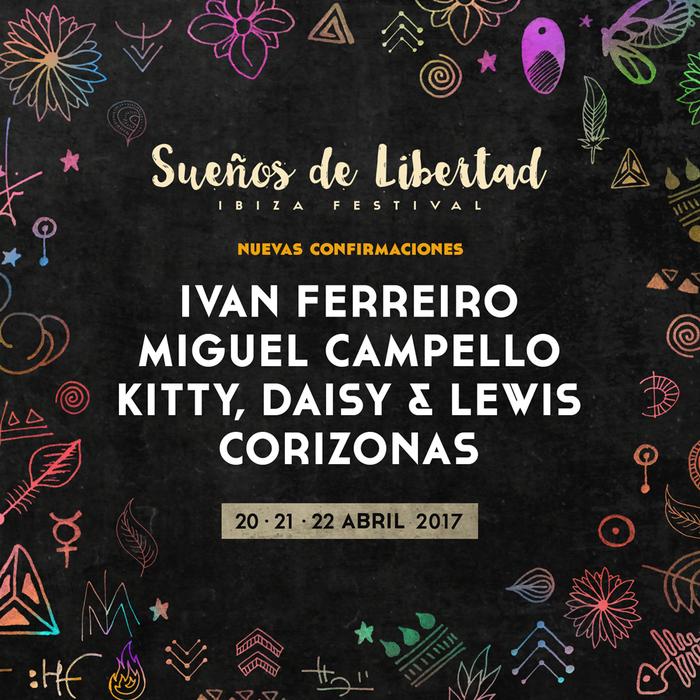 Sueños de Libertad 2017, del 20 al 22 de abril en Ibiza