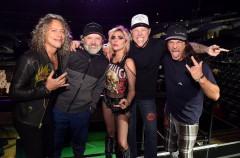 """Lars Ulrich: """"La actuación con Lady Gaga fue demasiado buena como para que no se repita"""""""