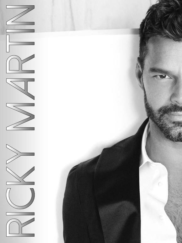 Ricky Martin, número tres en ventas en España