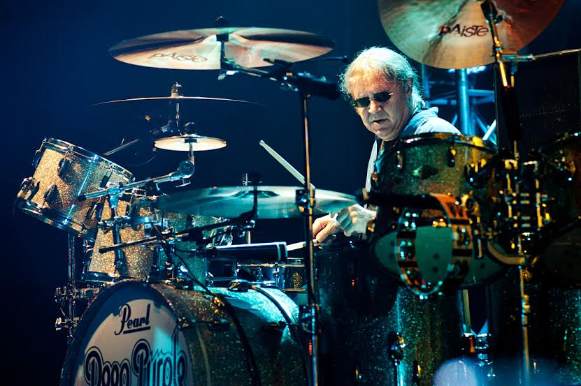 "Ian Paice, de Deep Purple,: ""Seguimos sintiéndonos como niños al tocar en este grupo"""