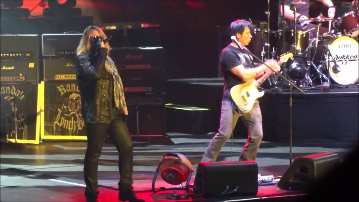 """George Lynch: """"El grupo Dokken no estaba preparado correctamente para nuestra última gira de reunión"""""""