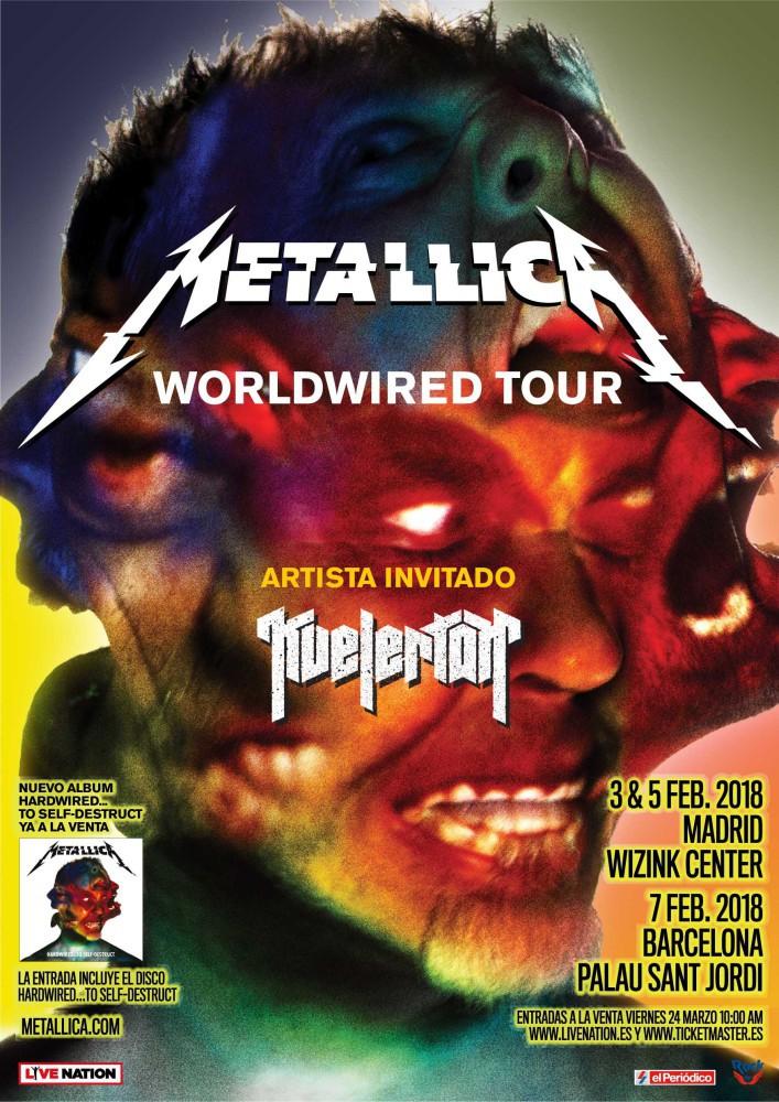 Robert Trujillo explica cómo será el escenario de la gira de Metallica por España