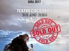 """Robe logra colgar el """"no hay billetes"""" para su concierto en Madrid"""