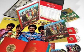 The Beatles, detalles de la edición de lujo de  Sgt. Pepper's Lonely Hearts Club Band