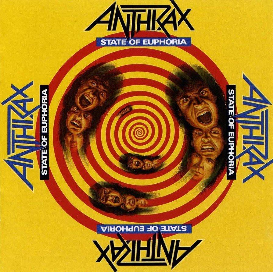 Anthrax editarán State of Euphoria en edición Deluxe