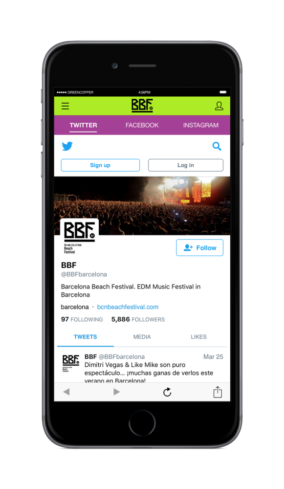 Barcelona Beach Festival 2017, nueva app para tu smartphone