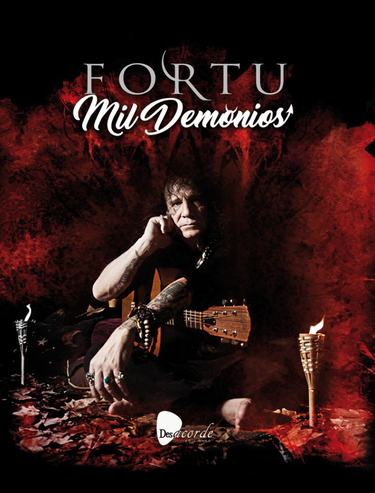Fortu, de Obús, editará su biografía, Mil Demonios, el 25 de abril