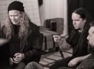 Dave Mustaine y Joey Jordison juntos en el estudio de grabación