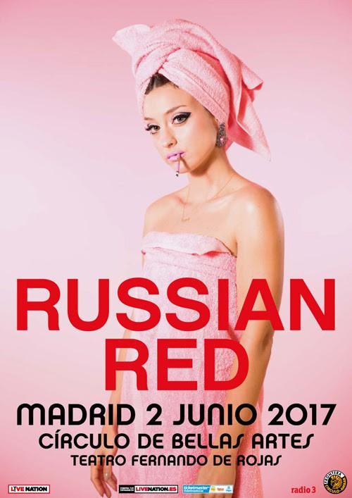 Russian Red, concierto en Madrid el 2 de junio