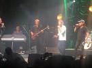 Brian Johnson vuelve a los escenarios junto a Plant y a Rodgers