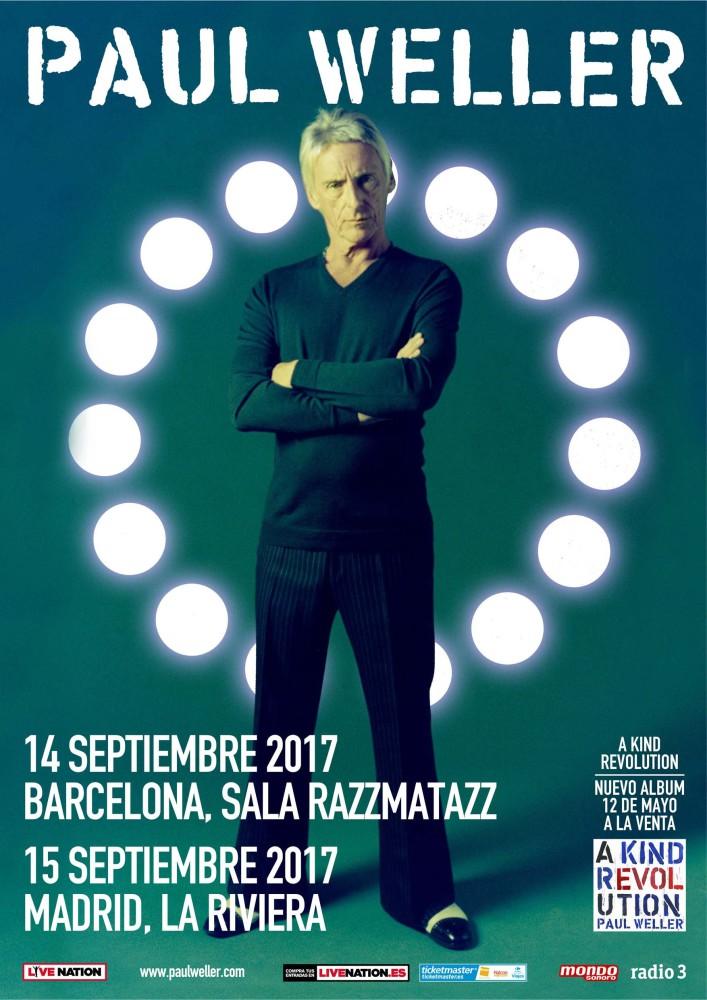 Paul Weller, gira por España en septiembre