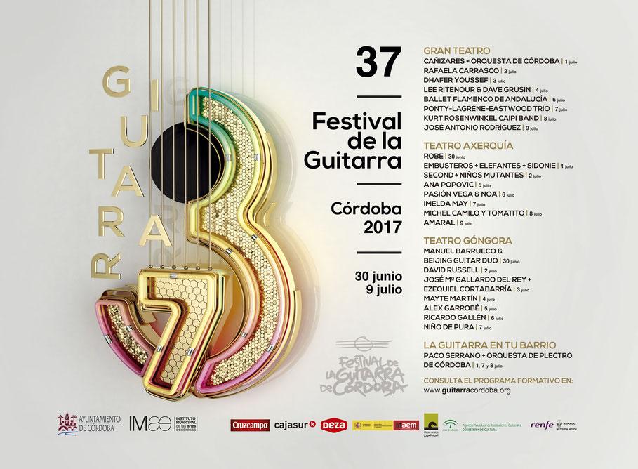 XXXVII Festival de la Guitarra de Córdoba, espectáculos más destacados de esta edición