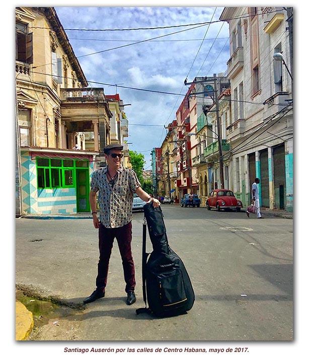 Santiago Auserón recibe el premio Cubadisco en La Habana