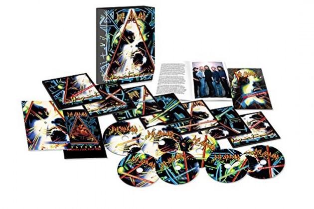 Def Leppard, detalles de la reedición de Hysteria