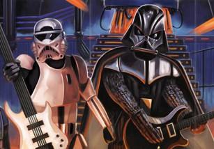 Galactic Empire, el grupo que transforma la BSO de 'Star Wars' en heavy metal