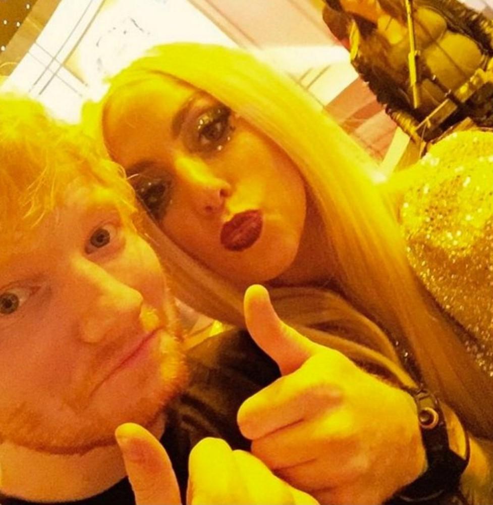 Lady Gaga apoya a Ed Sheeran tras los ataques recibidos en Twitter