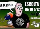 Mi rollo es el rock- en Radio Tarragona-, apoyando a los grupos emergentes